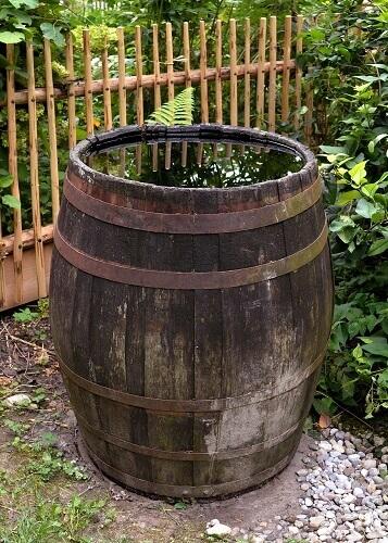 étapes pour installer un récupérateur d'eau de pluie
