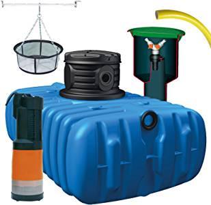 récupérateur d'eau de pluie enterré n°3